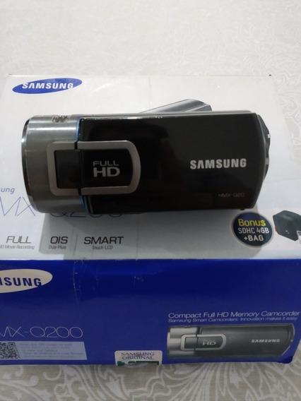 Câmera Filmadora Samsung Hmx-q200