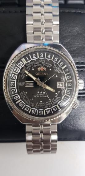 Reloj Orient Automatico Horario Mundial