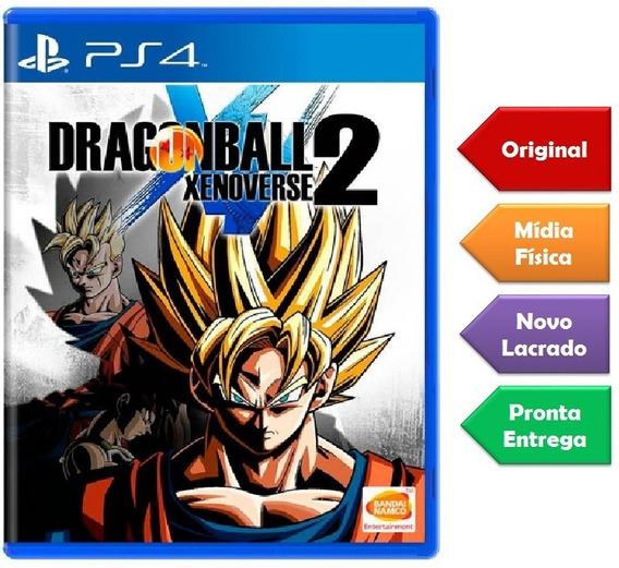 Dragon Ball Xenoverse 2 Ps4 Mídia Física Novo Lacrado
