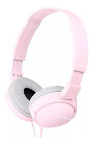Fone De Ouvido Rosa Pink Original Sony Zx100 Zx110 Headphone