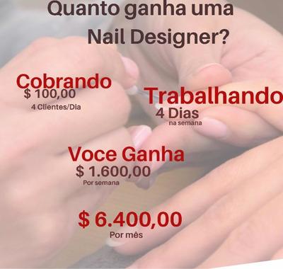 Curso Nail Designer ( Alongamentos De Unhas )