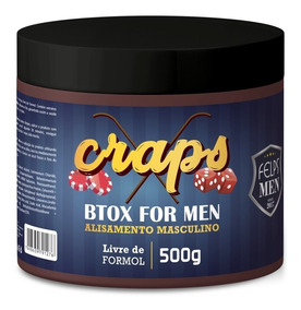 Btox For Men Progressiva Em Massa Craps Felps Men 500g