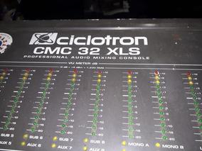 Mesa De Som Ciclotron Cmc 32 Xls