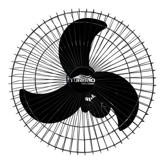 Ventilador Parede 60 Cm Turbo 200w De Potência Forte Turbão