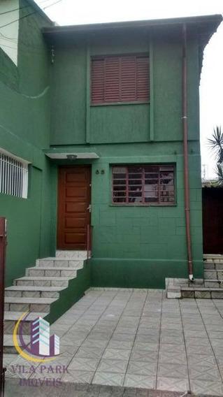 Sobrado 2 Dormitórios Com Armários 2 Vagas, Jaguaré, São Paulo. - So0078
