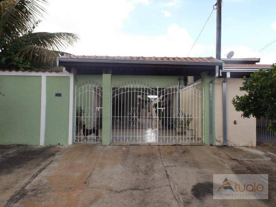Casa Com 1 Dormitório À Venda, 80 M² - Loteamento Remanso Campineiro - Hortolândia/sp - Ca6133