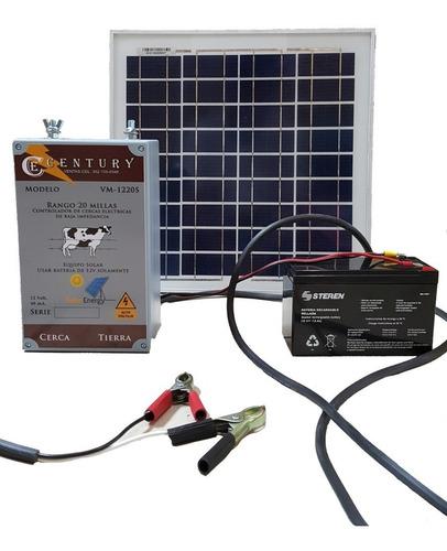 Imagen 1 de 6 de Cerco Electrico Ganadero Solar 30 Millas (45 Kilometros).