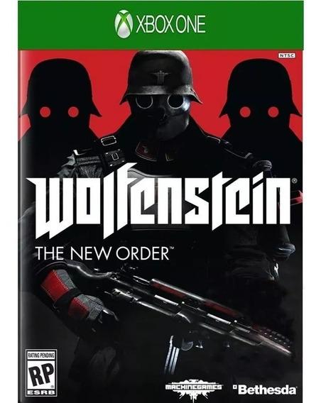 Jogo Wolfenstein The New Order Xbox One Midia Fisica