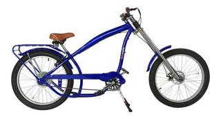 Bicicleta Chopper Estilo Nirve - Azul