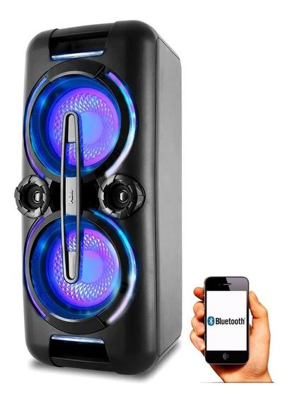 Caixa Som Portátil Bluetooth Pcx8000 500 Rms Potente Philco