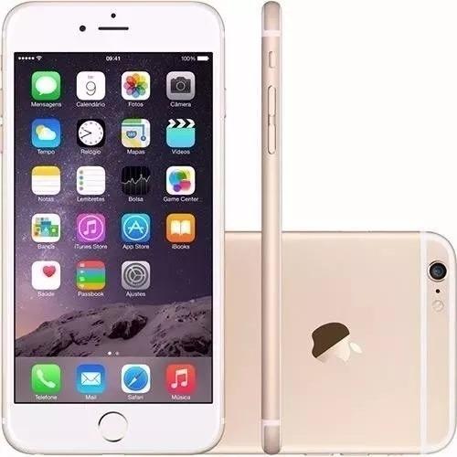 Imagem 1 de 5 de iPhone 6 Plus 16 Gb Dourado Ram 1 Gb - Vitrine