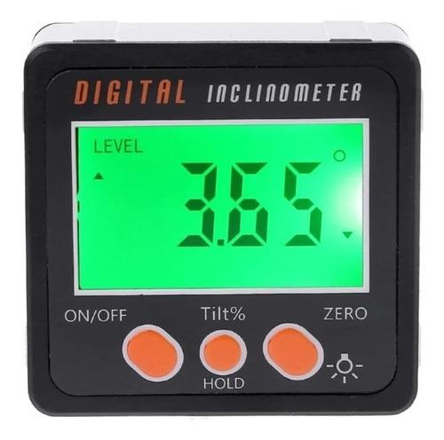 Inclinómetro Digital Medidor Nivel Ángulo Base Magnética