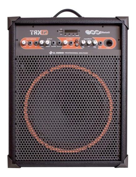 Caixa Amplificada Ll Audio Trx 12 80w Rms Bluetooth Controle