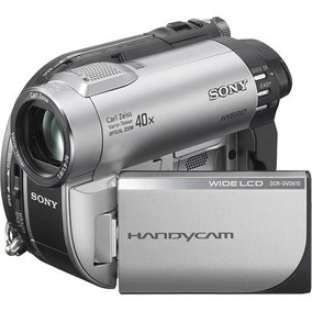 Filmadora Handycam Sony Dcr - Dvd 610 - Semi-nova