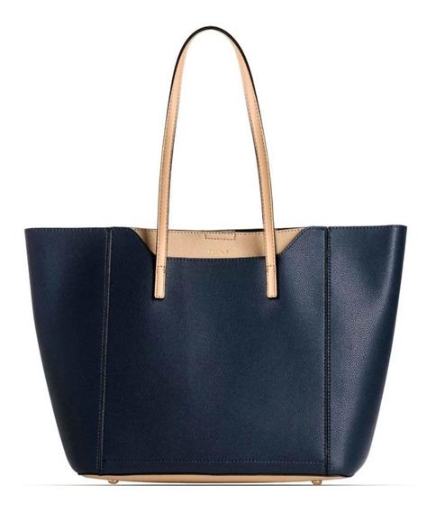 Cartera Prune 2915 Azul Modelo Taye Bolso Hombro