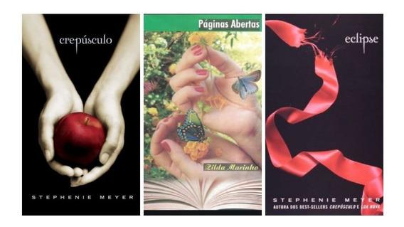 Livros Aventura E Romance Coleção Com 03.
