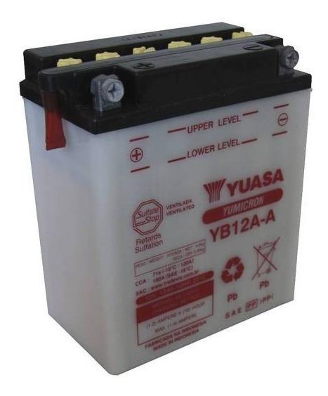 Bateria Yuasa Yb12a-a Cb400/450//cbr450/agrale