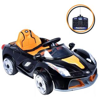 Mini Carro Elétrico Modelo Velocity 6v Preto Suporta 30kg
