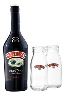 Licor Baileys Original De 700 Ml + 2 Baby Milk Bottles