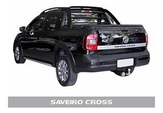 Adesivo Tampa Traseira Volks Saveiro Cross G5/g6 Cinza Sv02