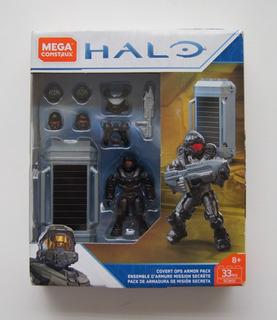 Mega Construx Halo Pack De Armadura De Misión Secreta Gcm31