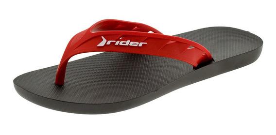 Chinelo Masculino Street Rider - 11573 Preto/vermelho