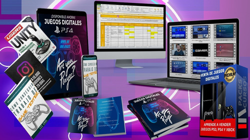 Imagen 1 de 1 de Curso Venta De Juegos Digitales Ps3 Y Ps4 El Más Completo