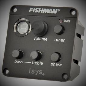 Captador Fishman Isys+ 301 - Violão, Ukelele,viola, Cavaco