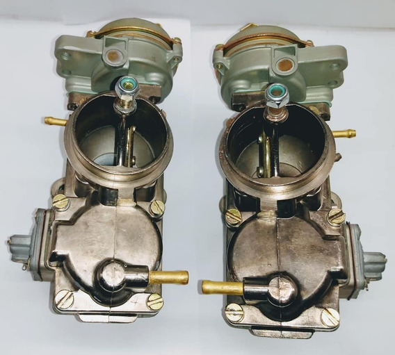 Carburador Duplo Kombi/brasilia/fusca Álcool 1600 Solex