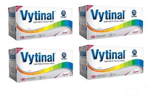 Kit 4 Caixas Vytinal Com 100 Comprimidos