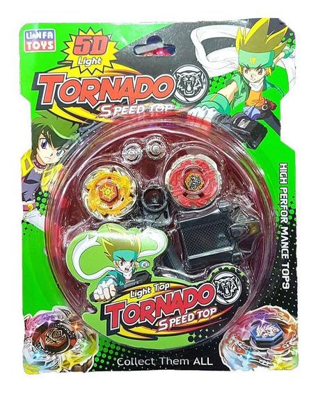 Tornado Speed Top Pião 5d Lianfa Toys