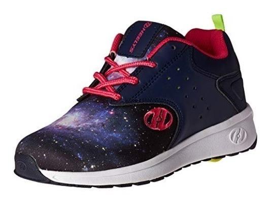 Zapatos Con Ruedas Heelys Velocity Azul T31
