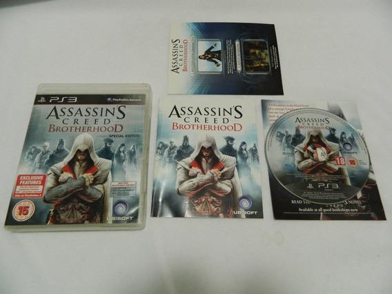 Assassins Creed Brotherhood - Ps3 Mídia Física Caixa Manual
