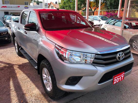 Toyota Hilux Doble Cabina Sr Tm5 2017 Credito Recibo Auto Fi