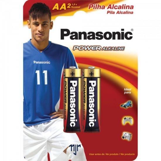 Pilha Alcalina Aa Lr6xab/2b Panasonic Caixa C/192 Pilhas (ca