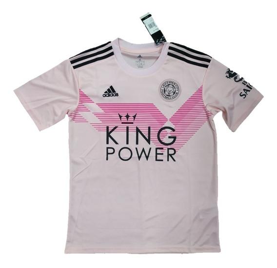 Camisa Leicester 2019/2020 S/nº Torcedor Pronta Entrega