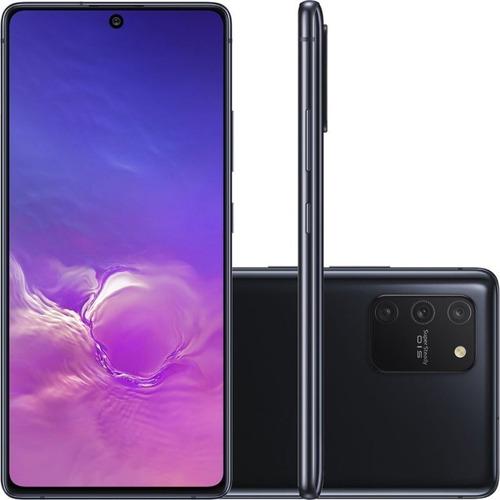 Celular Smartphone Samsung Galaxy S10 Lite G770f 128gb Preto - Dual Chip