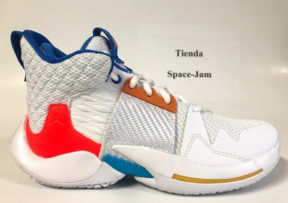 Jordan Why Not Zer0 White. Tienda Space Jam