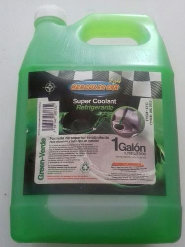 Refrigerante Verde Hércules Super Coolant 1 Galón