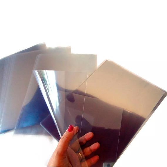 20 Folhas Acetato Transparente Cristal A4 0,30 Frete Gratis!