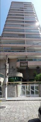 Apartamento Com 3 Dormitórios À Venda, 81 M² Por R$ 485.000 - Campo Da Aviação - Praia Grande/sp - Ap2942