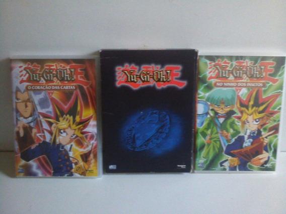 Box Da Série Yu-gi-oh! Com 2 Dvds - Vol.1 E 2 - Filmes