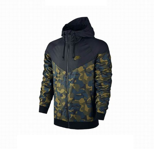 Jaqueta Corta Vento Nike Camuflada Impermeável