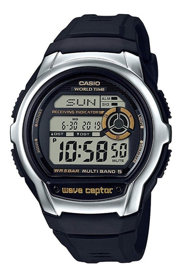 Relógio Casio Wave Captor Wv-m60-9acf Original