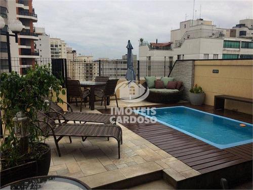 Cobertura Com 4 Dormitórios À Venda, 230 M² Por R$ 2.100.000,00 - Perdizes - São Paulo/sp - Co0093