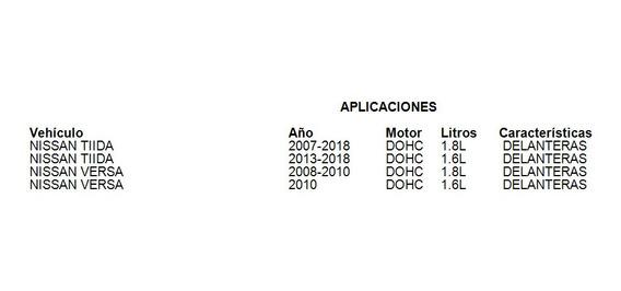 Balatas Delanteras Tiida 2007-2018 1.8l Fritec