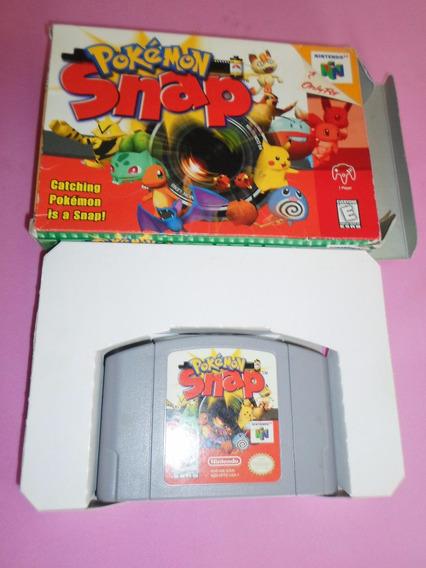 Jogo Pokemon Snap Original Com Caixa Para Nintendo 64 N64