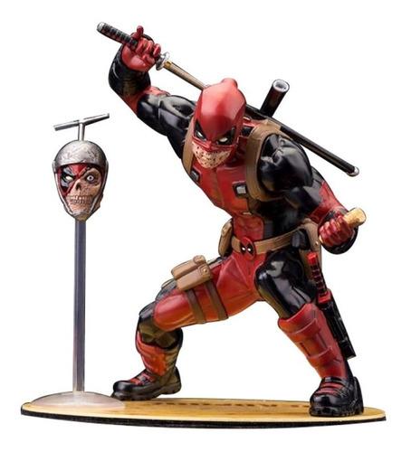 Artfx+ Marvel Deadpool Chimichanga 2015 Sdcc Exclusive 1/10