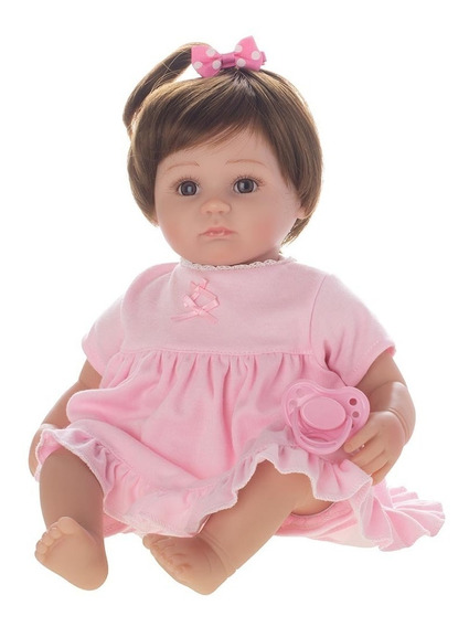 Boneca Laura Baby Strawberry - Bebe Reborn