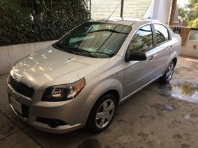 Chevrolet Aveo 2016 Lt Único Dueño Factura Original